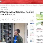 FOTO: NVO Mladiinfo Montenegro: Pokloni za žene povodom 8.marta