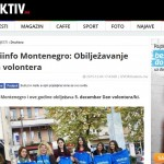 Mladiinfo Montenegro: Obilježavanje Dana volontera