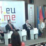 Pejović : Crnogorci počinju da razmišljaju kao Evropljani