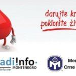 Akcija dobrovoljnog davanja krvi u četvrtak
