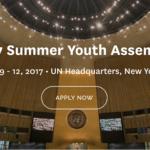 Ljetnje zasjedanje skupštine mladih u sjedištu Ujedinjenih Nacija