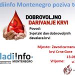 M!M organizuje akciju povodom Svjetskog dana krvi