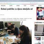 """""""NVO Mladiinfo Montenegro: Balonipodrškezadjecuoboljeluodraka""""- Kolektiv, 14.02.2017"""