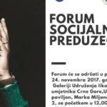 Forum socijalnih preduzeća u Podgorici