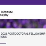 Postdoktorski grantovi na Rotman institutu za filozofiju