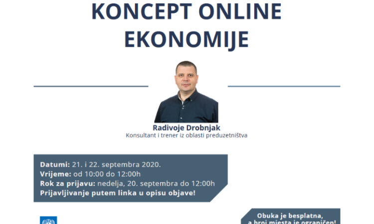 Koncept online ekonomije